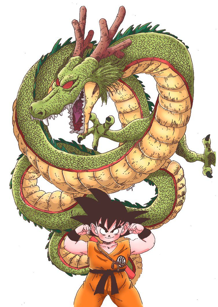 Pin Em Goku