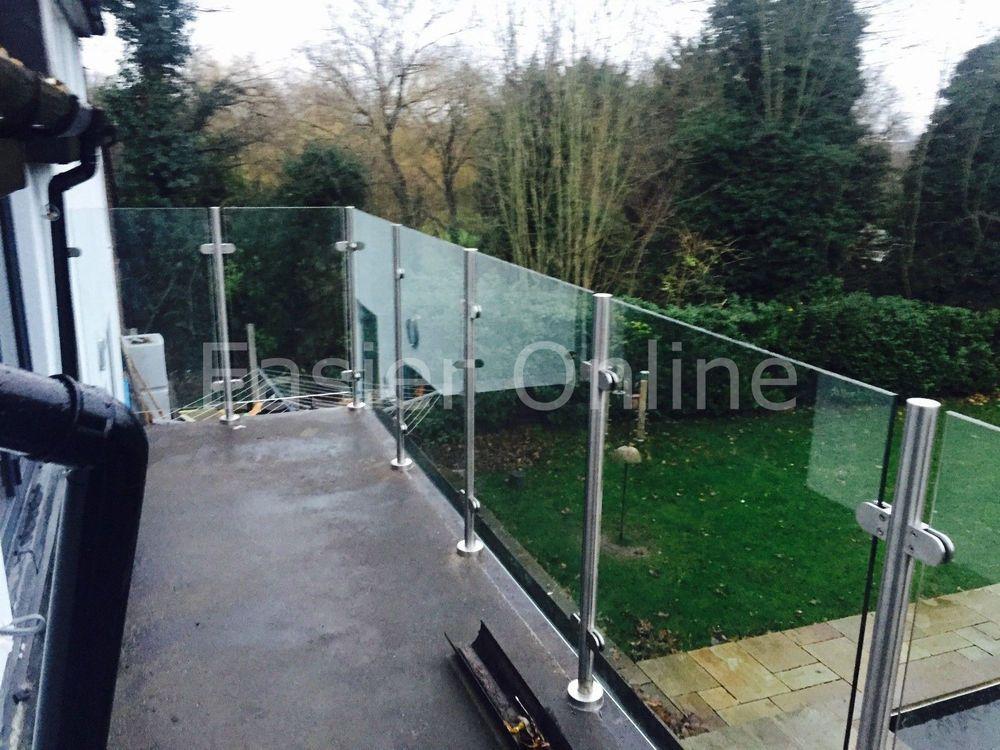 10mm Toughened Glass Panels Balustrade Railing Glazing