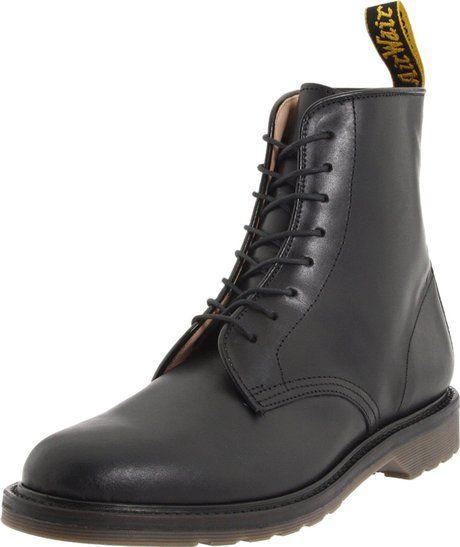 dc54f1865 Dr. Martens Dr Martens Mens Jeffery Boot in Black for Men - Lyst ...
