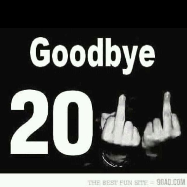Thank God this year is finally over.