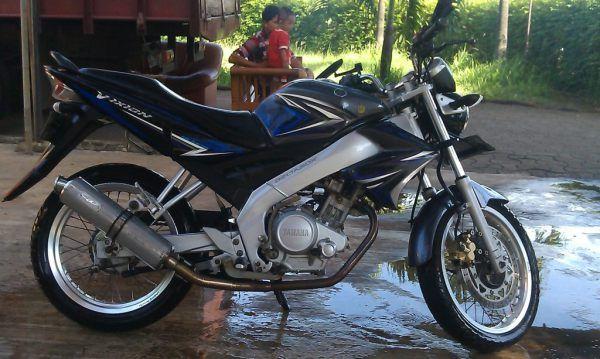 Modifikasi Motor Vixion Jari Jari Tahun 2008 Motor
