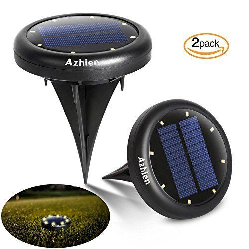 Led Lampes solaires de jardin 2pièces Interrupteur automatique de ...