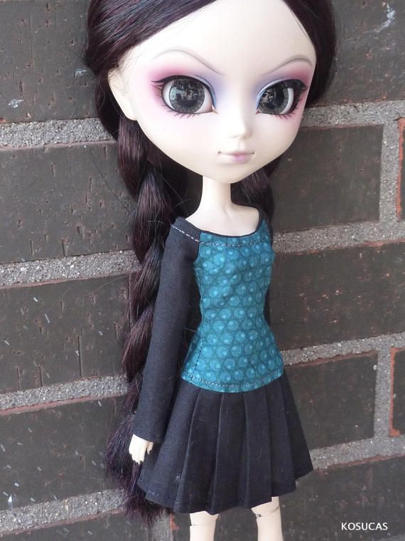 Dress for Pullip dolls. por Kosucas en Etsy