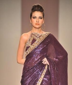 Purple saree #saree #sari #blouse #indian #outfit  #shaadi #bridal #fashion #style #desi #designer #wedding #gorgeous #beautiful