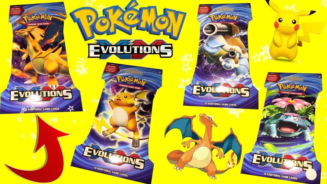 OPENING 4 Pokemon Evolutions TCG Booster Packs Jakes ToysTv #pokemon #pokemoncards #pokemongame #pokemon evolution #pokemongo #kidsvideo #youtube #charizard