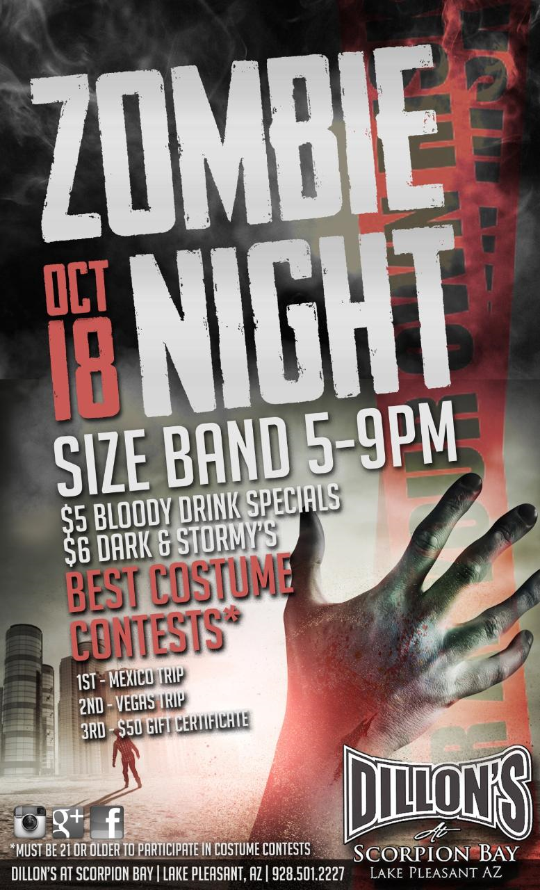 Zombie Night | Things to do | Pinterest | Zombie halloween party ...
