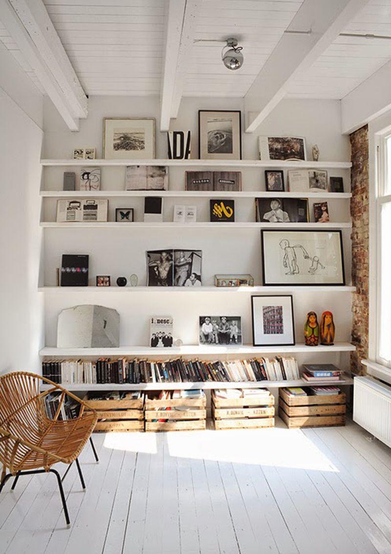 Libreria frontale come riordinare i libri in un modo for Arredamento alternativo