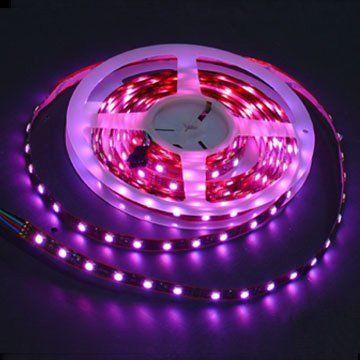 LEDwholesalers 24 Volt RGB Color Changing LED Flexible Lighting Strip with 150 SMD5050 3m Taple 16.4 & LEDwholesalers 24 Volt RGB Color Changing LED Flexible Lighting ... azcodes.com