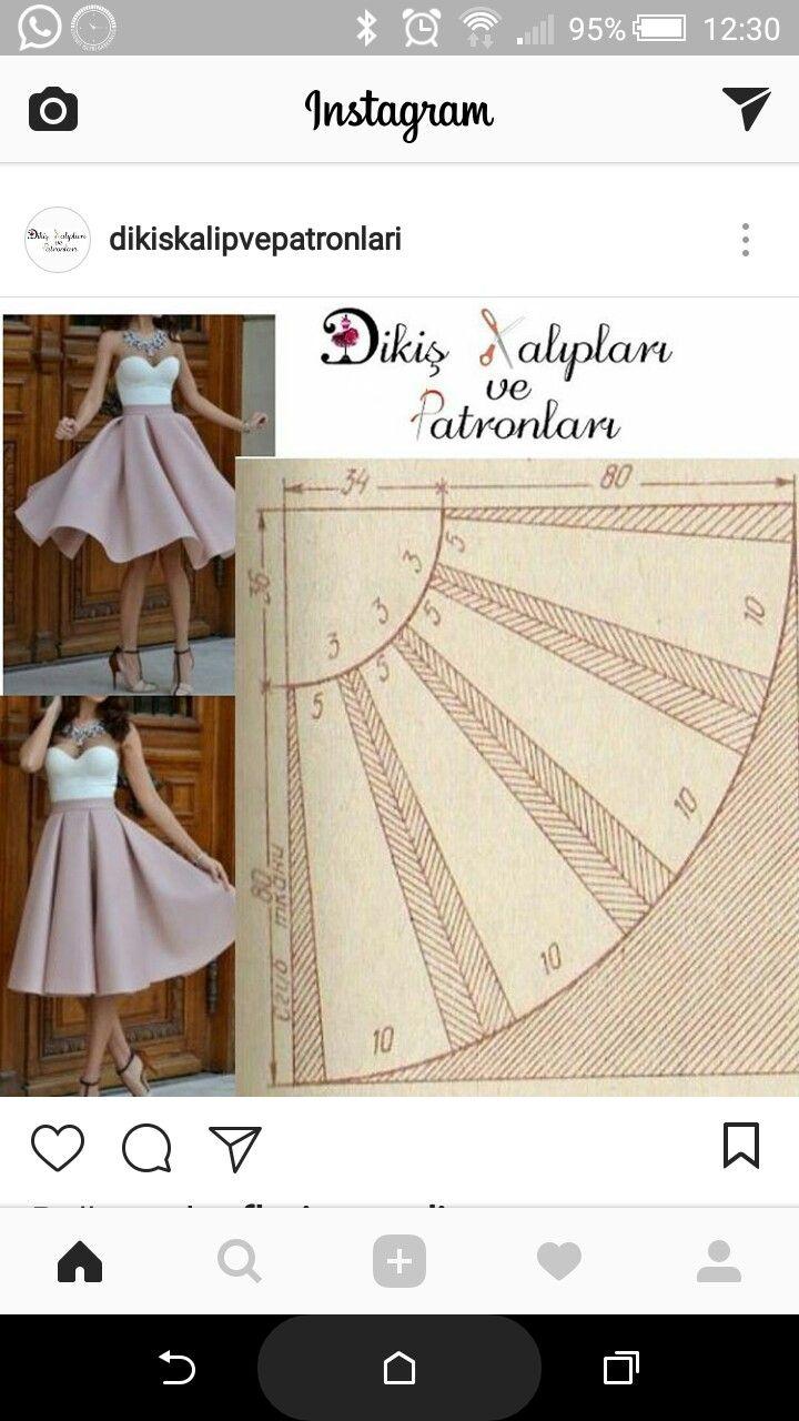 irynatatarchuk | เดรส | Pinterest | Sewing, Skirt patterns sewing ...