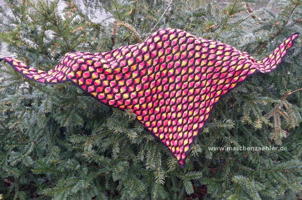 Kostenlose Häkelanleitung Für Das Tuch Phlegethon Tücher Crochet