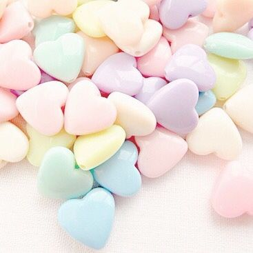 pastels.quenalbertini: Pastel hearts | soft punk princess