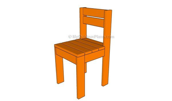 This Step By Step Diy Woodworking Project Is About Kids Chair Plans. If You  Want To Build A Small Chair For Your Kids, You Should Pay Attention To This  ...