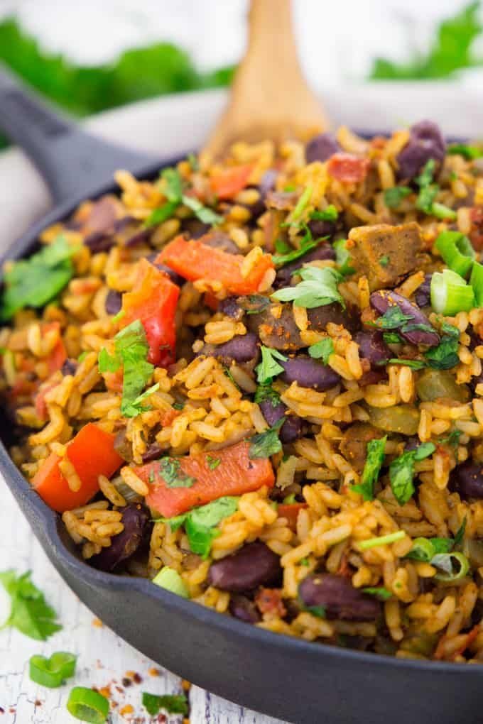 Jambalaya - Reisteller aus Louisiana   - Kochen -