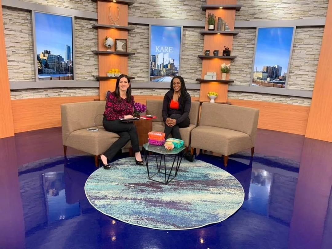 We were on @kare11 with guest star, @TwoHauteMamas2 to talk about keeping up on health and fitness i...