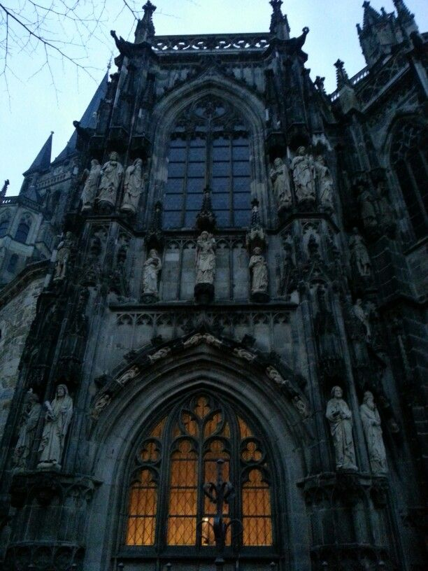 Pic taken by me :)  Cathedral in Aachen,  Germany