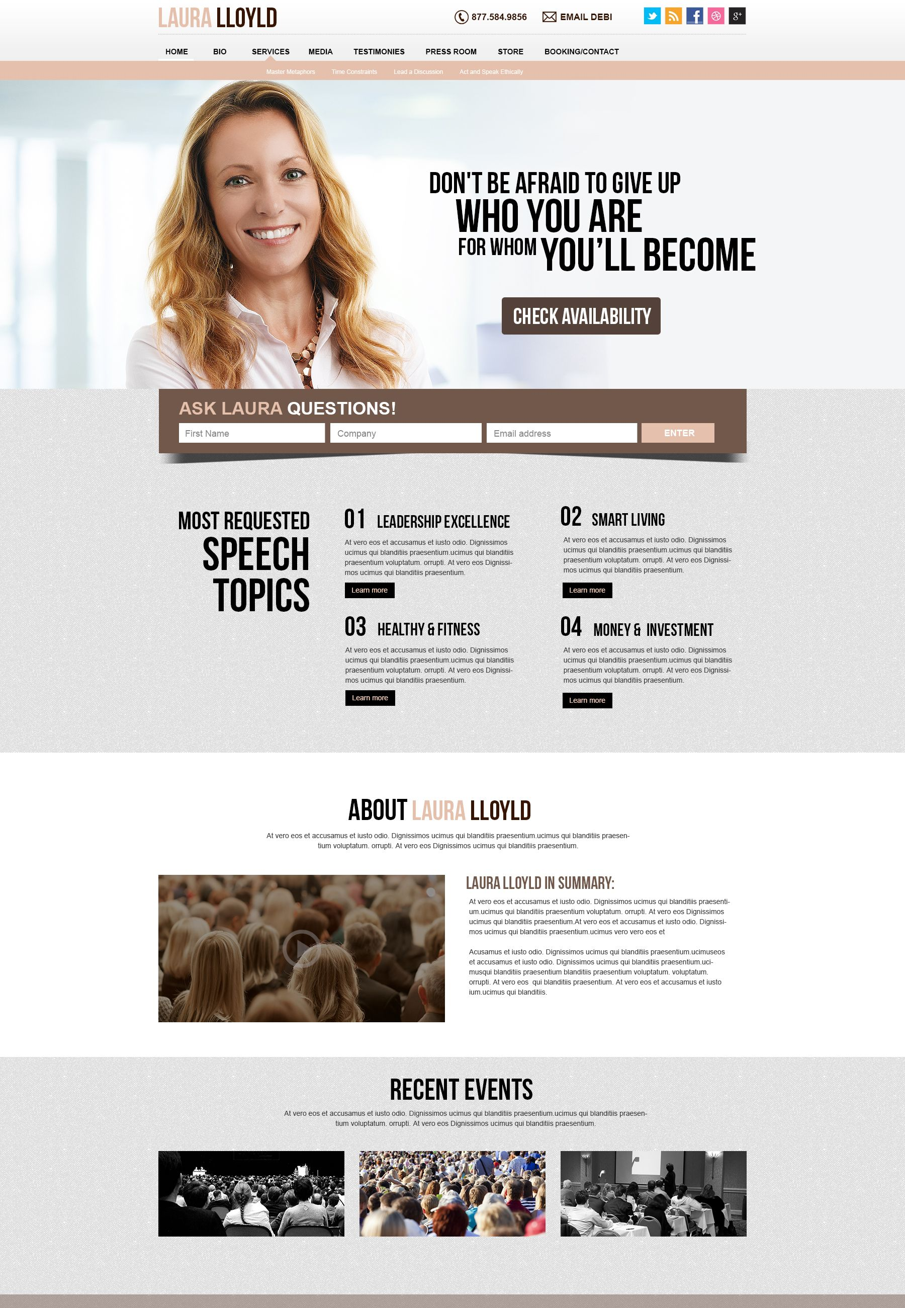 We Offer Services From Creative Webdesign Development And Internet Marketing Company From Tampa Websites Coach Website Motivational Speaker Public Speaker