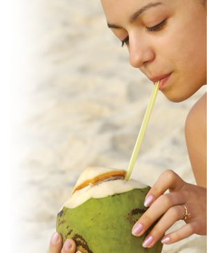 Coconut Water Is The Nutritious Clear Liquid Inside The Coconut Fruit Which Is Packed With Vitamins And Minerals There Is Nutrition Healthy Drinks Nutritious