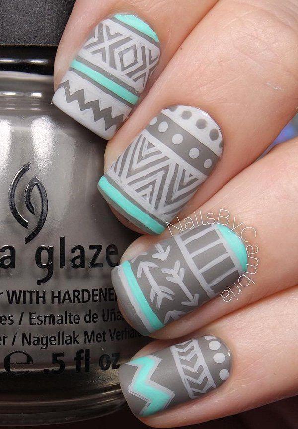 50 matte nail polish ideas - Nail Polish Design Ideas
