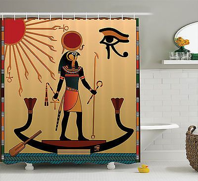 Old Egyptian Ancient God Sun Ra Faith Cultural Pagan Art Print