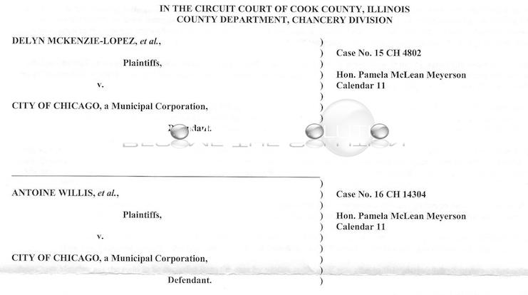 News MckenzieLopez  Antonie Willis V City Of Chicago Case Claim