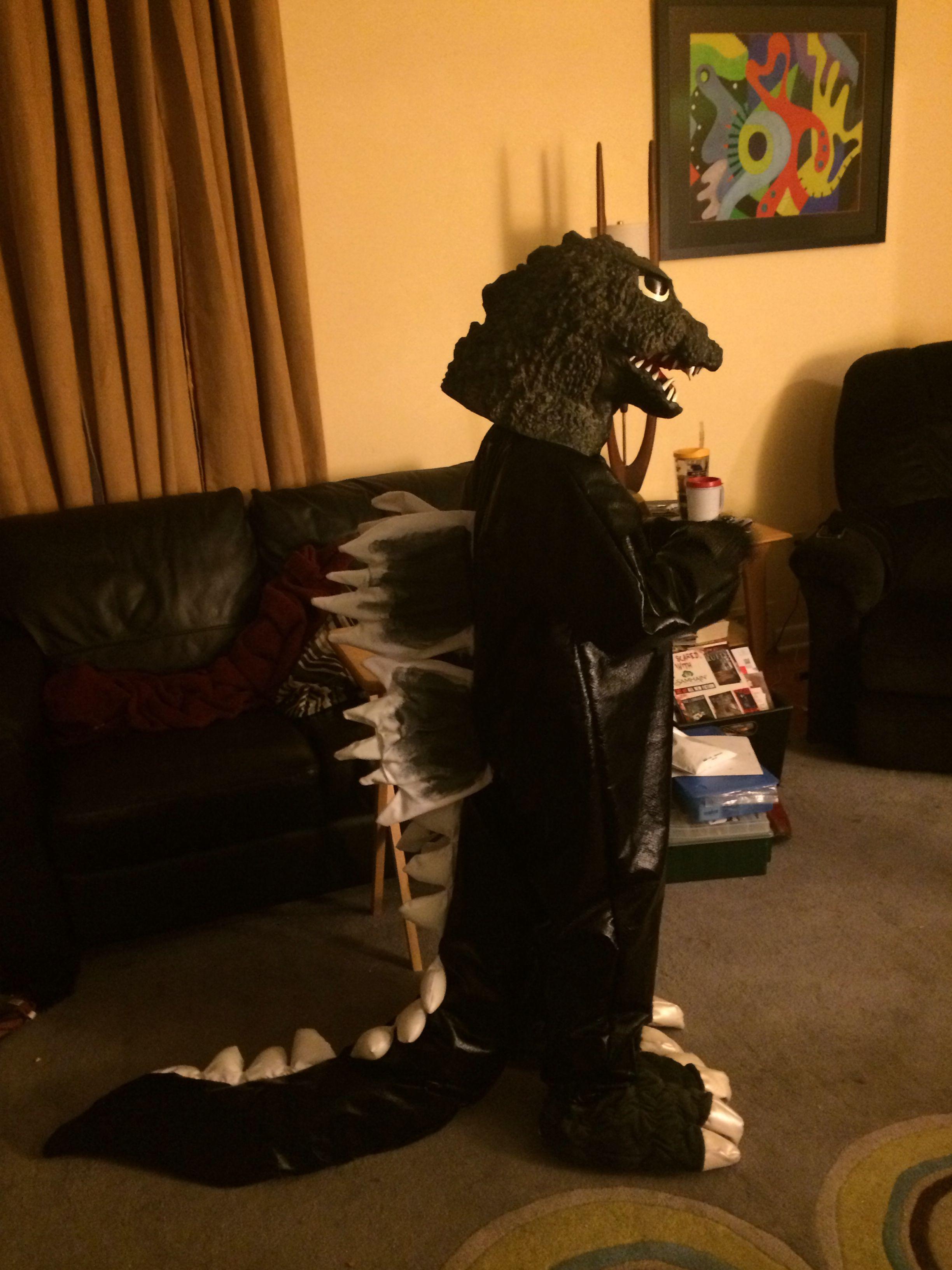 godzilla costume for my son