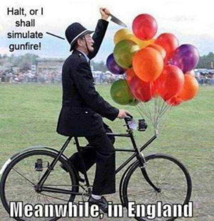 Don't like guns? Move to England. They don't allow them there.