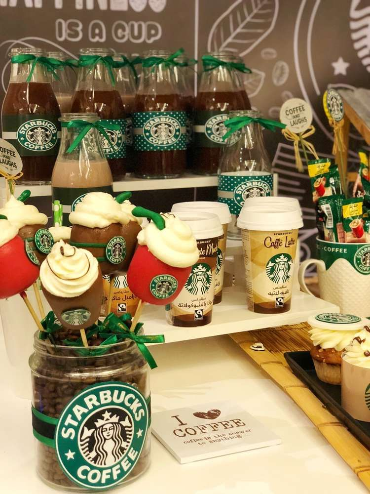 Starbucks Birthday Party Ideas Irish coffee recipe