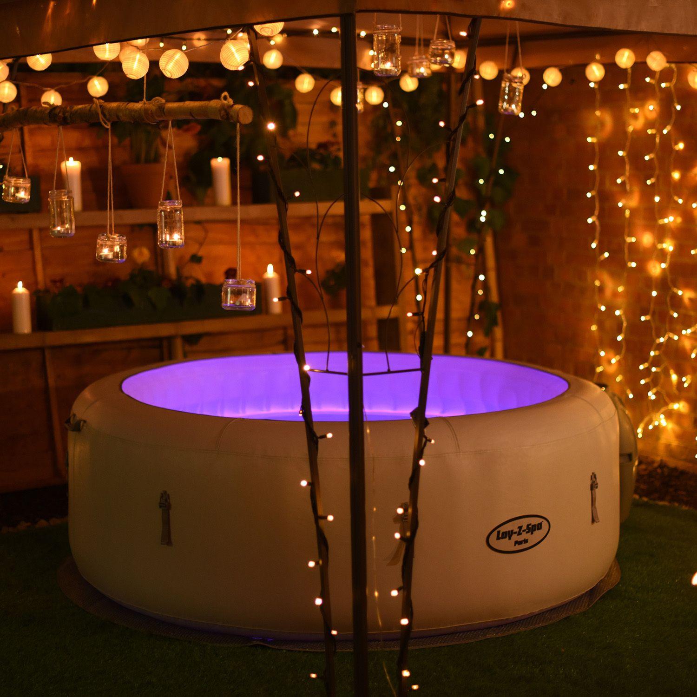 Lay Z Spa Paris Hot Tub Room Hot Tub Garden Hot Tub Outdoor