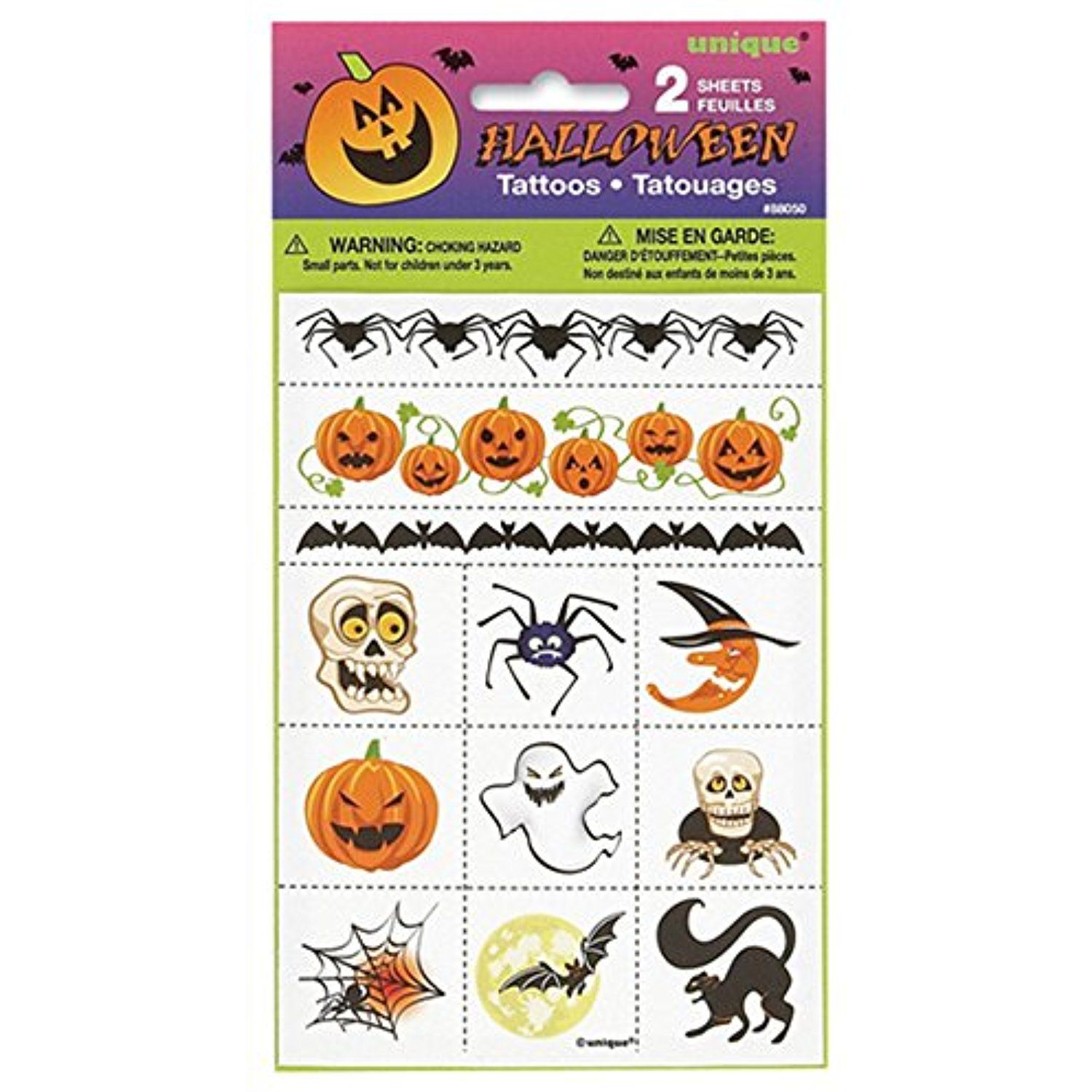 9ee4213b5 Halloween Temporary Tattoos, 24ct -- Be sure to check out this awesome  product. (This is an affiliate link) #NoveltyGagToys