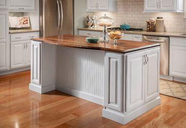 Lowe S Kitchen Islands Grove Arch Maple Linen Eclectic Kitchen