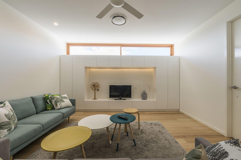 Backyard housecourtesy of joe adsett architects family room design contemporary architecture interior