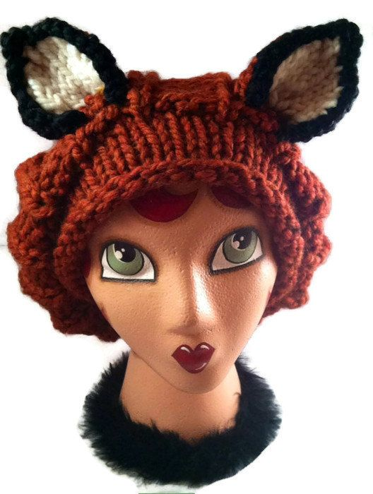 35+ Fox Craft Ideas | Knit patterns, Patterns and Knitted hat patterns
