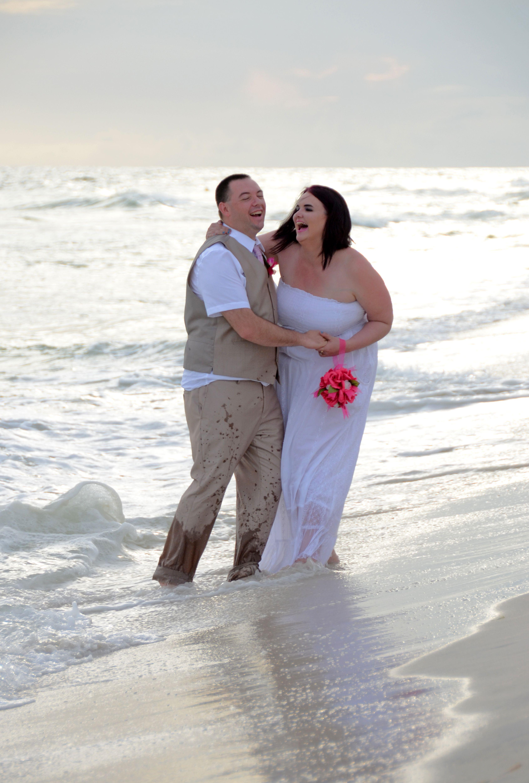 Panama City Beach, Marriage Vow Renewal! Sunset beach