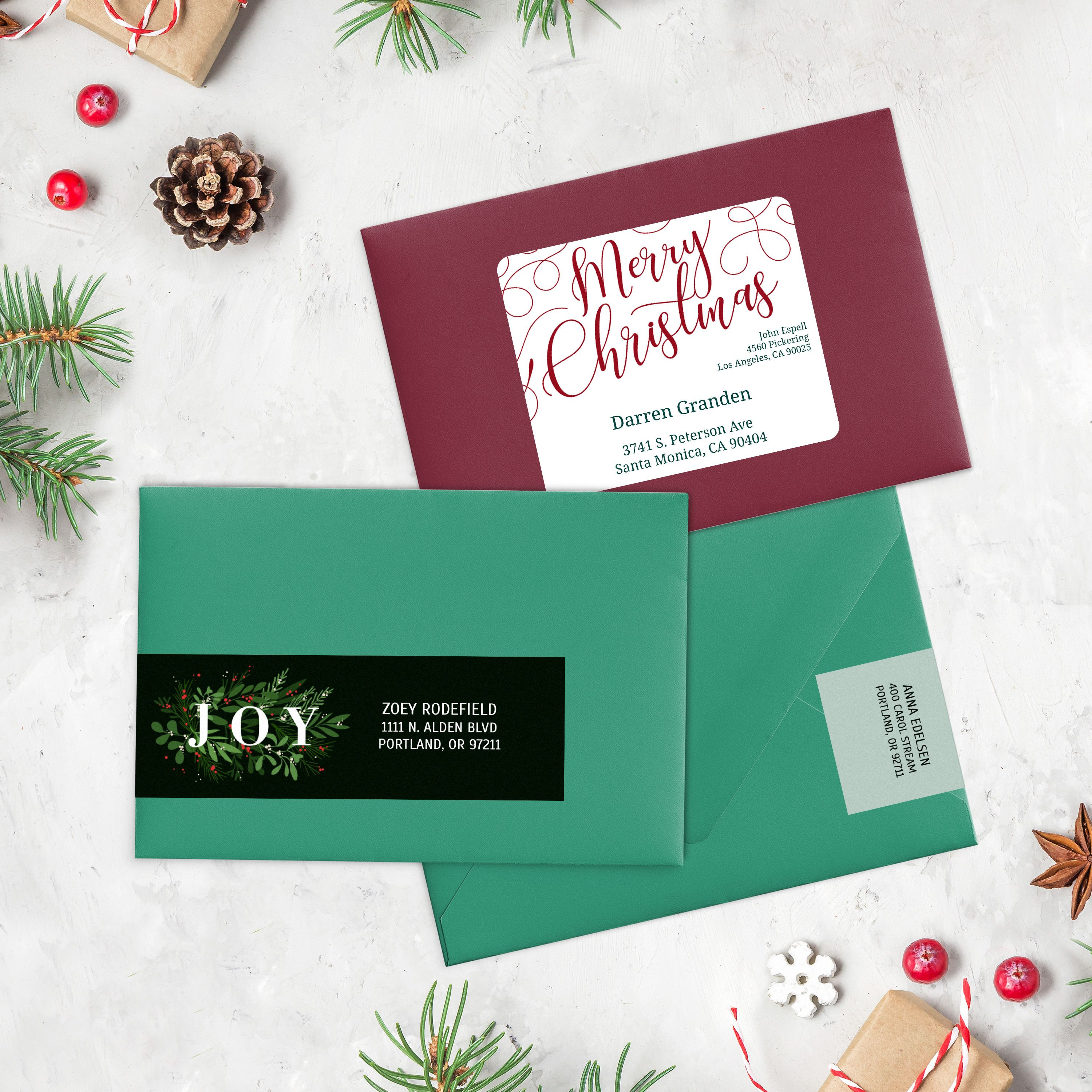 Personalized Holiday Address Labels Free Templates Holiday Card Template Holiday Address Labels Personalized Holiday