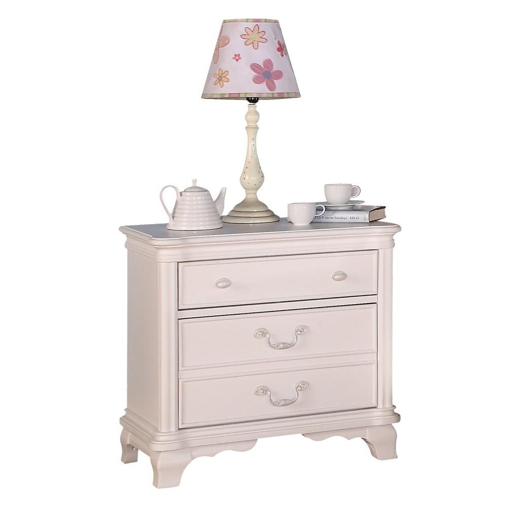 Ira Kids Nightstand White Acme Acme Furniture White