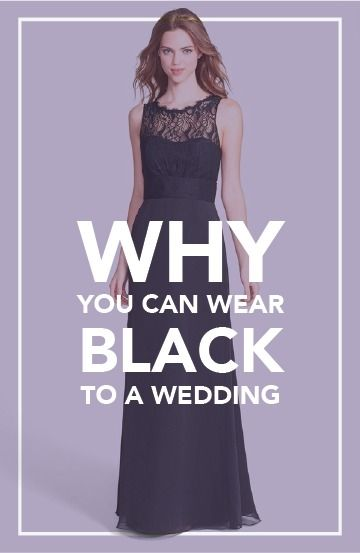 0f502a68cc09 Can You Wear Black to a Wedding  We Have a Clear Answer