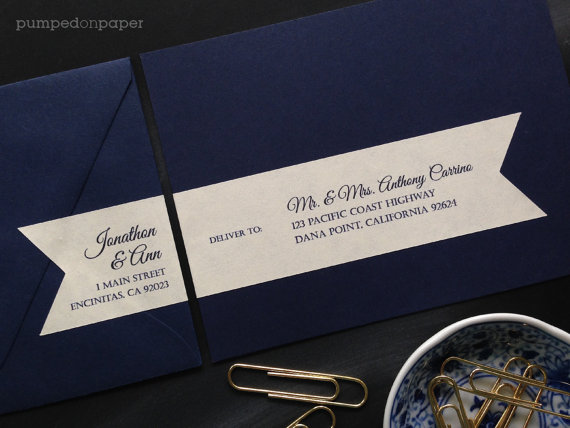 Labels For Wedding Invitations