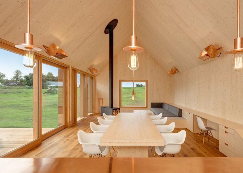 Wohnhaus aus Holz \/ Kühnlein Architektur Architektur Pinterest - einrichtung im industriellen wohnstil ideen loftartiges ambiente