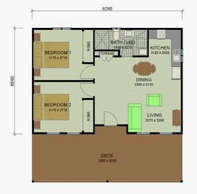 converting a double garage into a granny flat pinterest casas. Black Bedroom Furniture Sets. Home Design Ideas