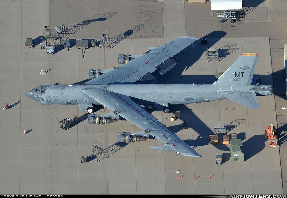Usa Air Force Boeing B 52h Stratofortress Tucson Davis