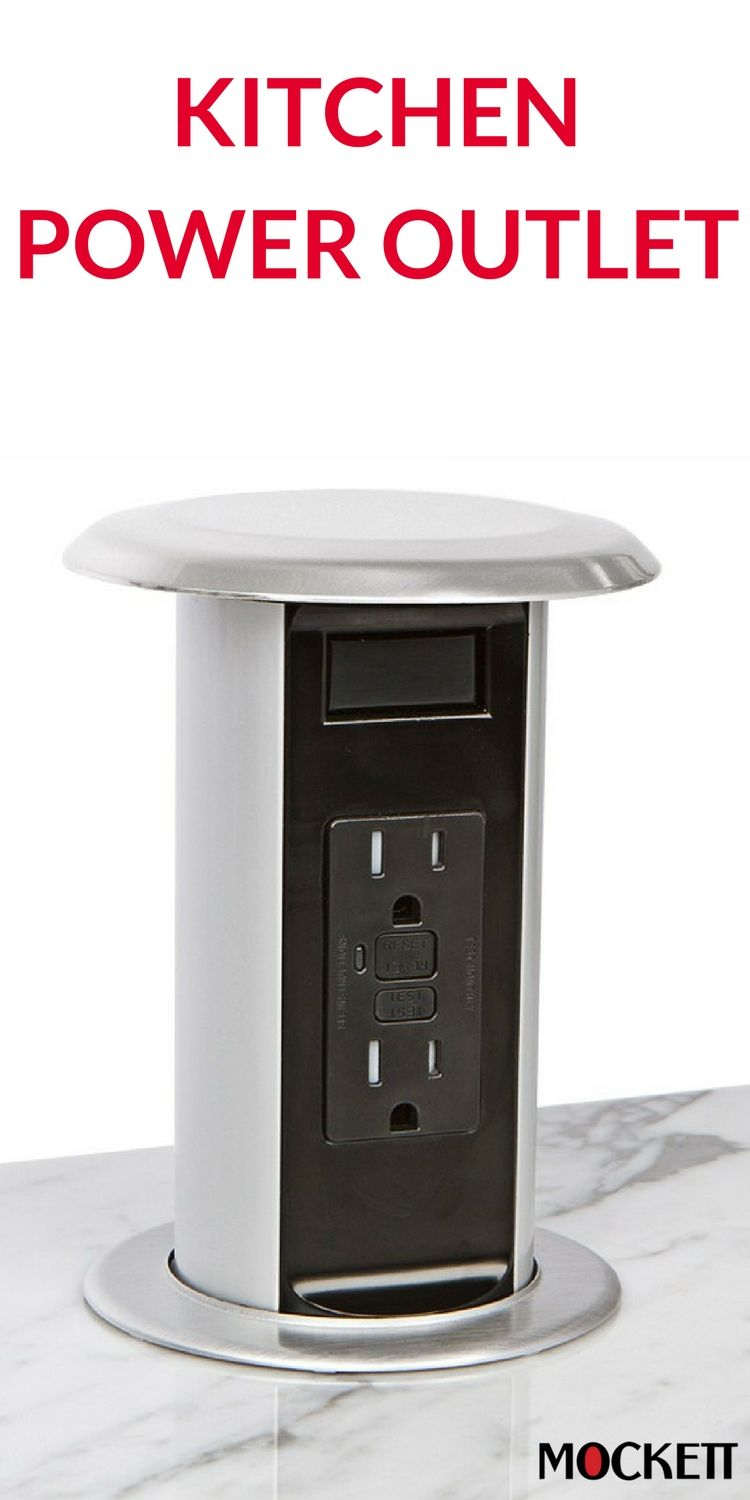 Kitchen Power Grommet Small Table And Chairs For Pop Up 15a Countertop Outlets In 2019 Mockett S Pcs77 Is Revolutionizing Remodel Residential Construction Projects This Provides A