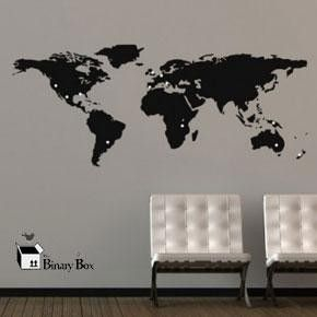 Small world map wall sticker for world wall sticker day spread small world map wall sticker for world wall sticker day spread the word gumiabroncs Choice Image