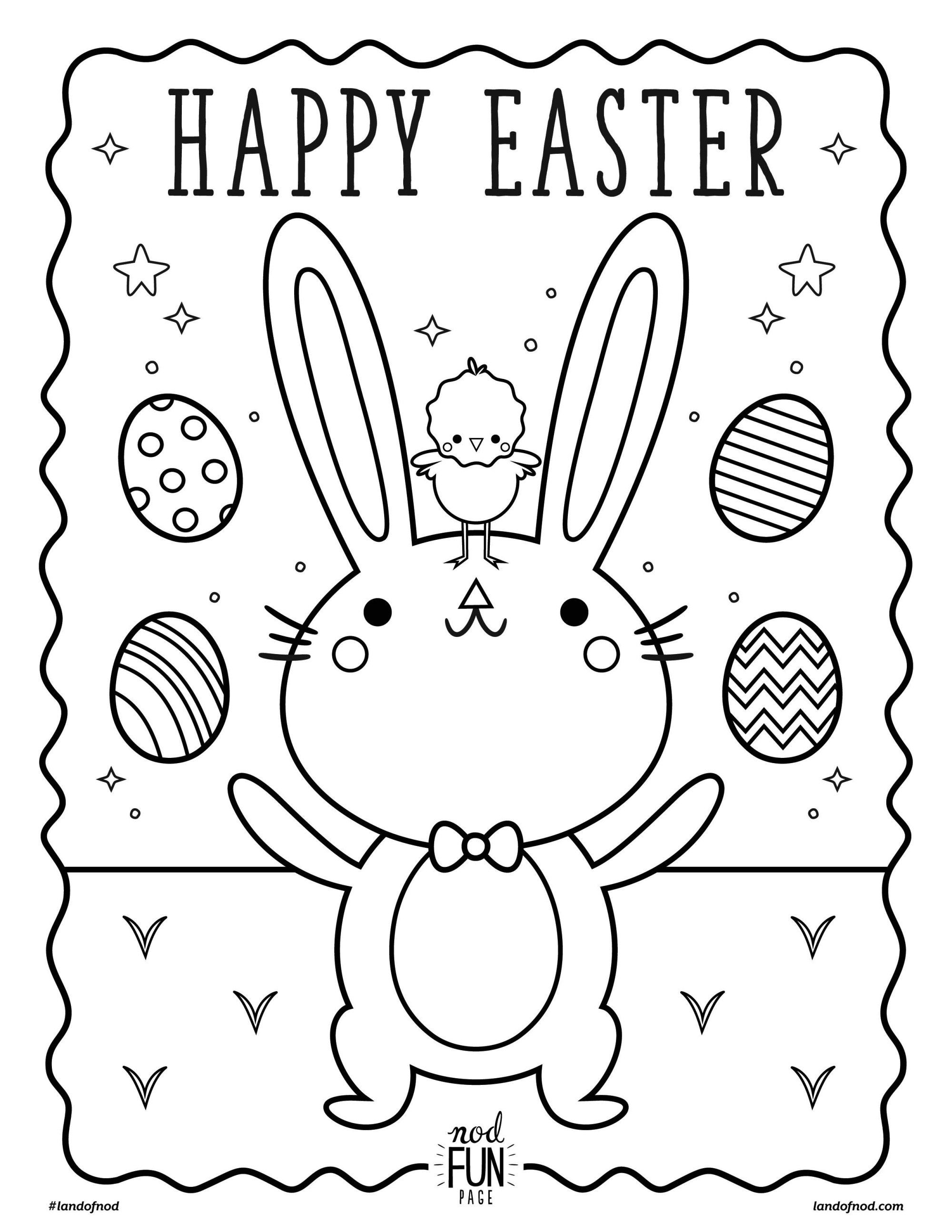 Printable Coloring Page: Easter | Pinterest