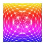 Neon red glob fractal canvas print  Neon red glob fractal canvas print  $510.00  by igorsin  . More Designs http://bit.ly/2hyOutM #zazzle