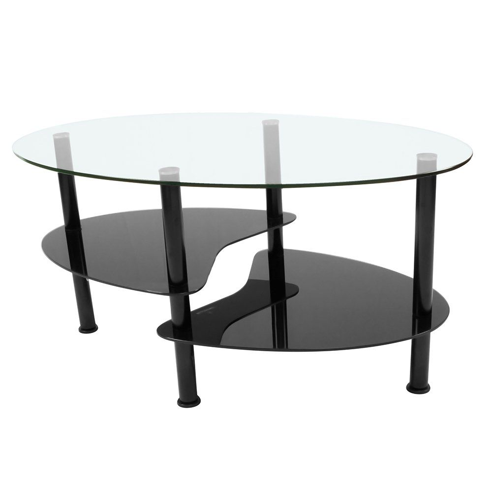 Innovex Ce003g29 Crescent Glass Top Easy To Assemble Modern Coffee Table And 2 End Tables Visit The Image Link More D Coffee Table Modern Coffee Tables Table [ 1000 x 1000 Pixel ]
