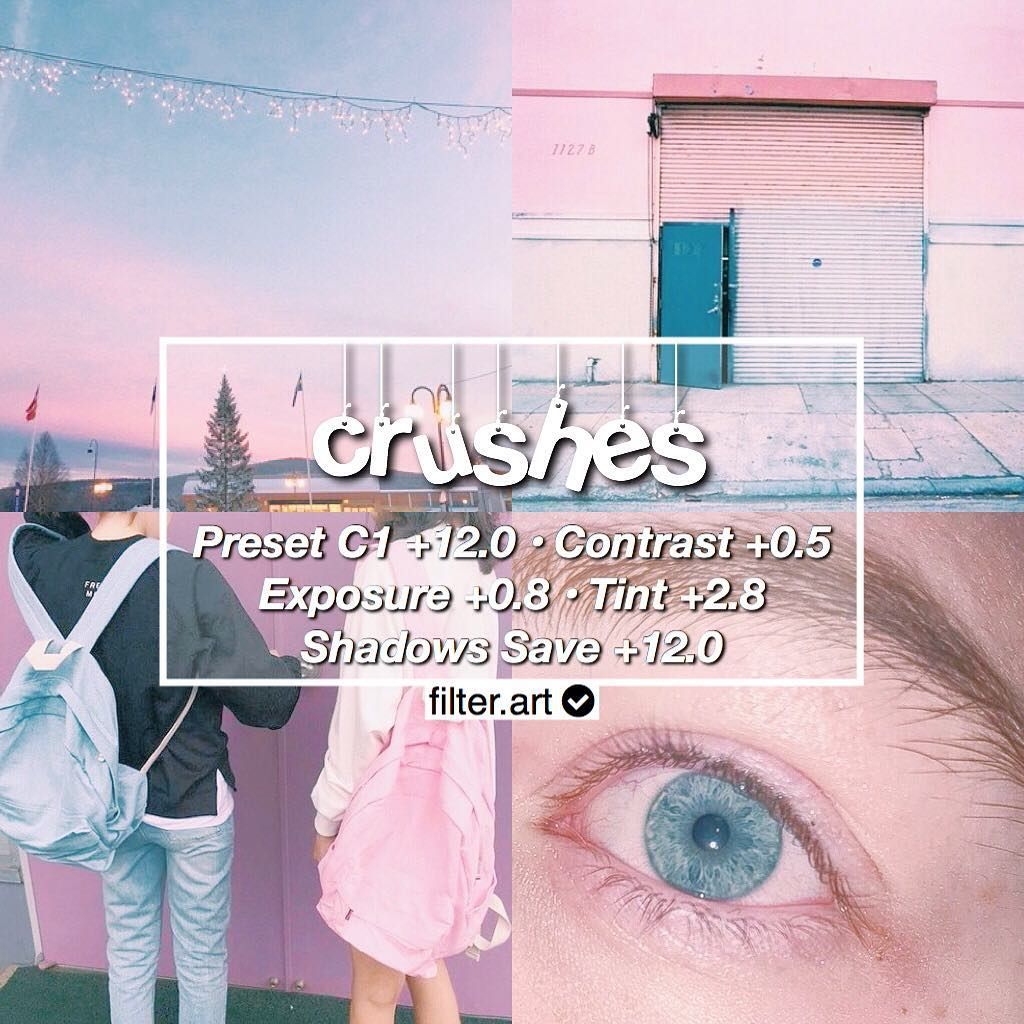 Vccpresets Pink And Blue Theme Pastel Looks Best With Pink And Blue Also Works On Some Pastel Colours Blue Aesthetic Pastel Vsco Tutorial Vsco Themes