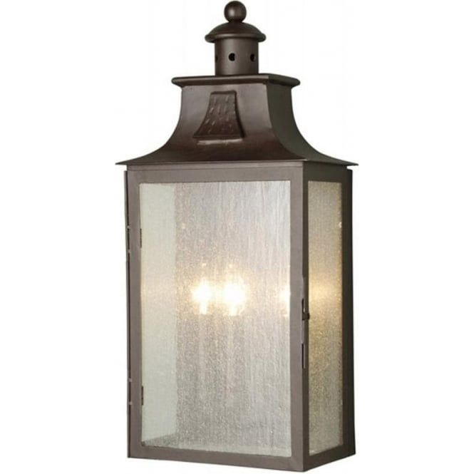 Balm Traditional Garden Wall Lantern From Our Wrought Iron Outdoor Lighting Range This Is A