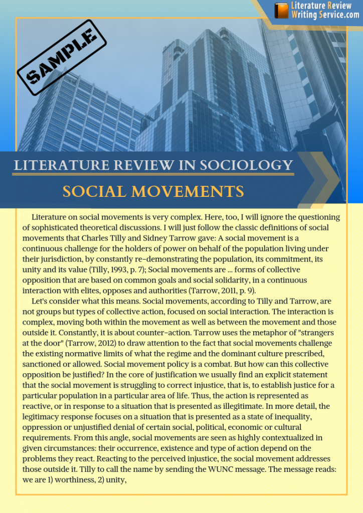 Example Of Literature Review In Sociology Don T Know How To Properly Cite Your Sources Or How Example Of Literature Review Sociology Literature Review Sample