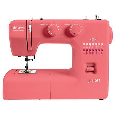 Well hello coral sewing machine  Oh stop it, you're making