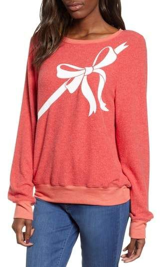 Wildfox Christmas Sweatshirt.Wildfox Couture Gift Wrapped Sweatshirt Products